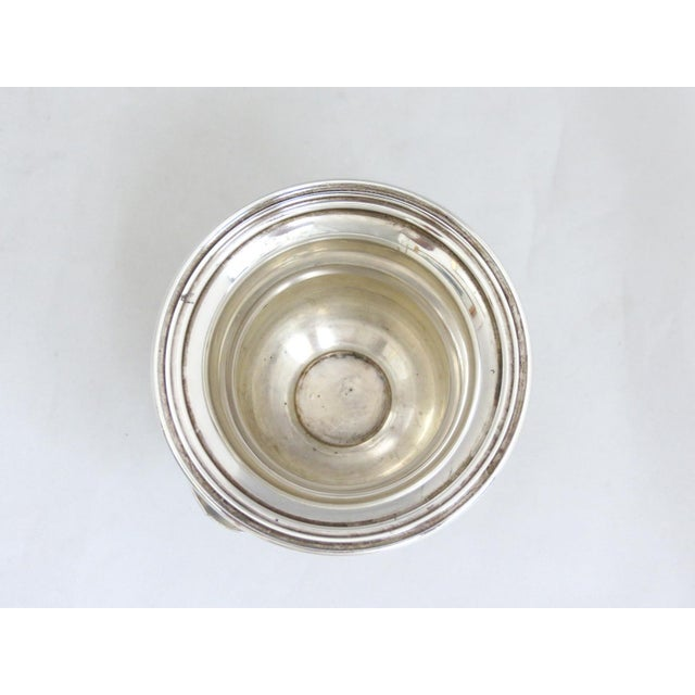 1940s Dunkirk Silversmith Sterling Champagne Bucket Toothpick Holder For Sale - Image 5 of 7