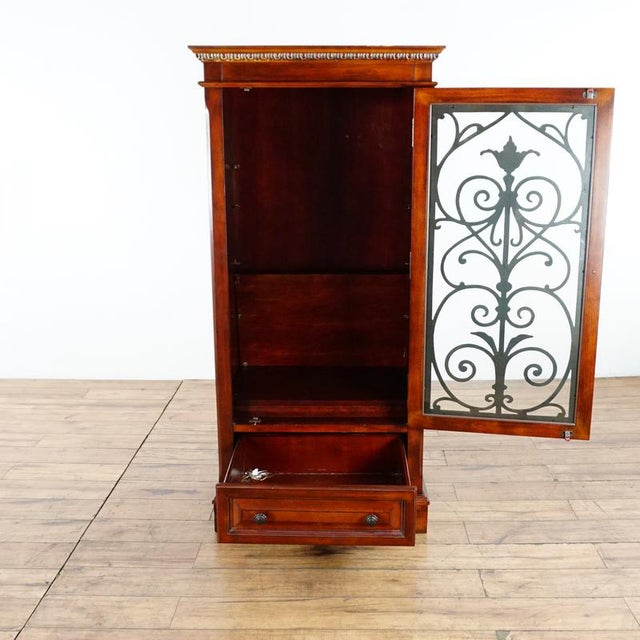 American Classical Shenandoah Valley Wine Cabinet For Sale - Image 3 of 13