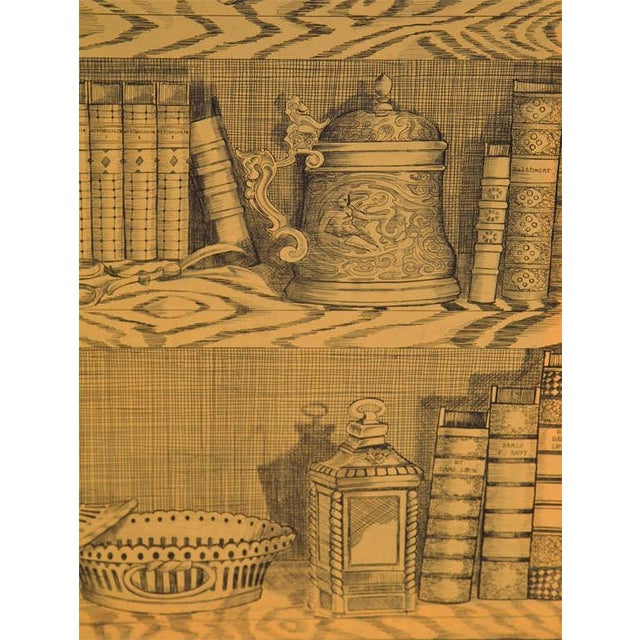 Fornasetti Style Three Panel Screen For Sale In New York - Image 6 of 8