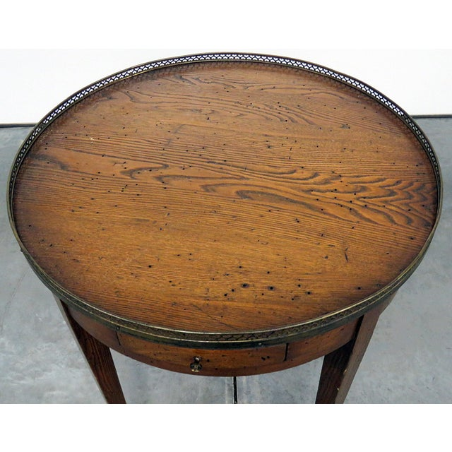Early 20th Century Antique Louis XIV Style Bouillotte Table For Sale - Image 5 of 10