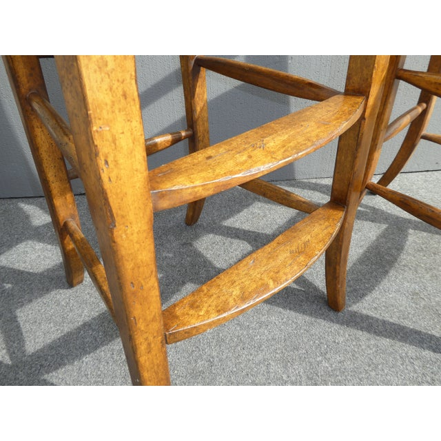 Minton Spidell French Country Black Bar Stools - Image 11 of 11