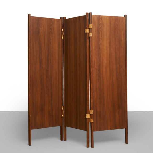 Brazilian rosewood screens in the manner of Percival Lafer - Image 6 of 6