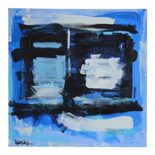 Robbie Kemper Signed Original Abstract Acrylic Painting - Image 1 of 6