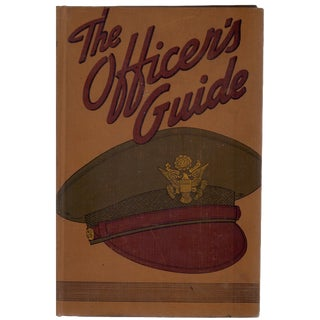"1942 ""The Officer's Guide"" Collectible Book For Sale"