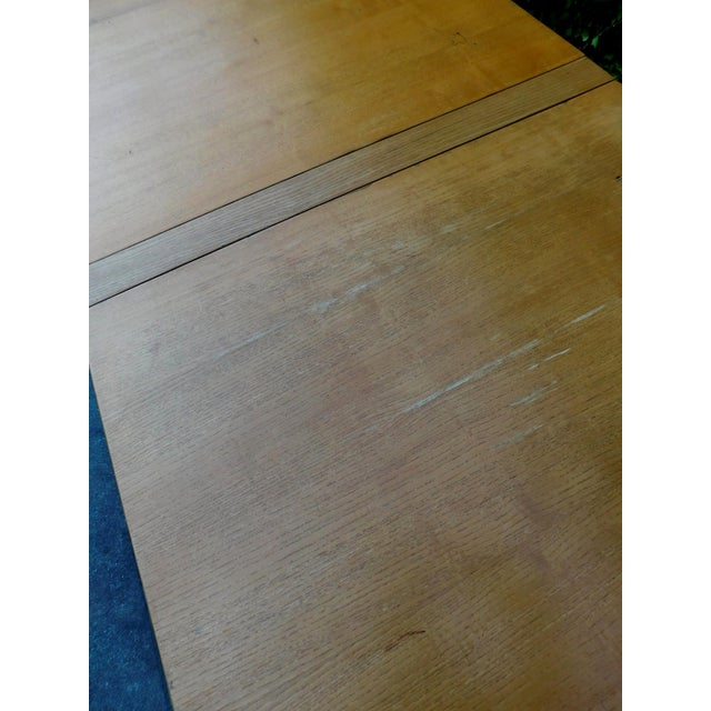 1937 Swedish Bruno Mathsson Folding Table For Sale - Image 9 of 12