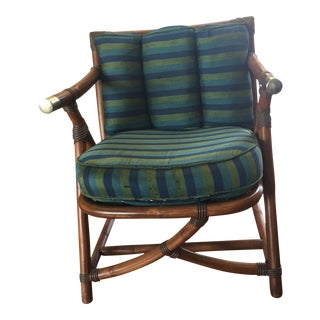 Vintage Vogue Rattan Chair