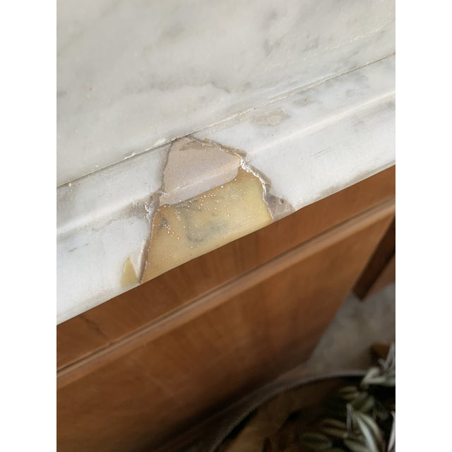 Stone 19th Century French Country Marble Top Dresser For Sale - Image 7 of 12