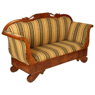 Mid 19th Century Vintage Biedermeier Sofa For Sale