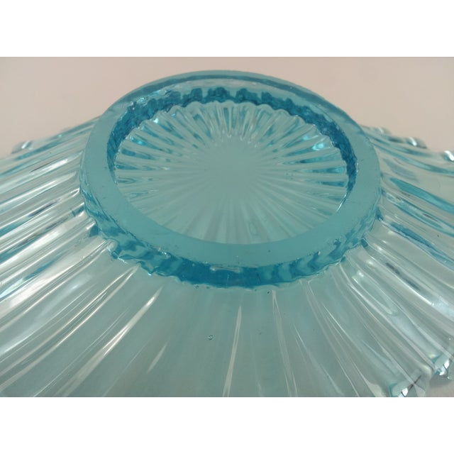 Ice Blue Crystal Catchall Ashtray - Image 4 of 4
