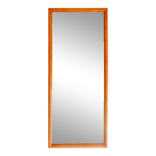 1960s Russel Wright for Conant Ball Maple Mirror For Sale