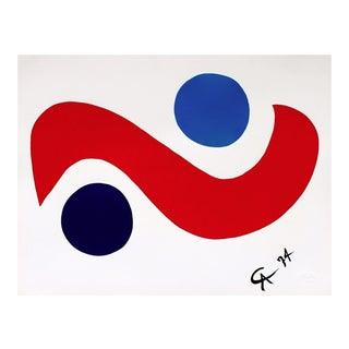 Alexander Calder Skybird (Flying Colors Collection) 1974 For Sale