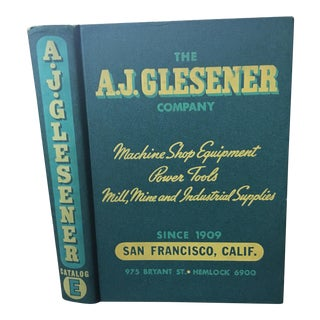 1944 AJ Glesener Catalog Book For Sale