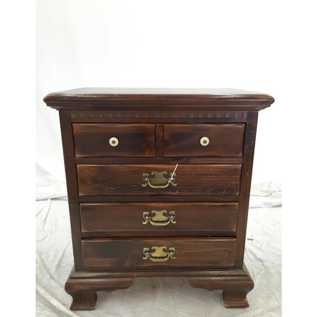 Ethan Allen Chippendale Side Chest - Image 2 of 4