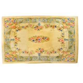 Vintage Floral Area Rug - 10′ × 12′