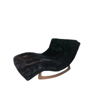 Mid Century Adrian Pearsall Wave Lounge Rocker For Sale