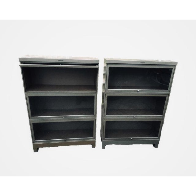 Vintage Wernicke Barrister Bookcases by Steelcase - A Pair - Image 5 of 5