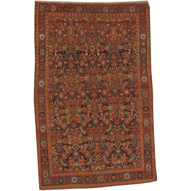 """Pasargad N Y Persian Malayer Rug - 4' x 6'4"""" For Sale"""