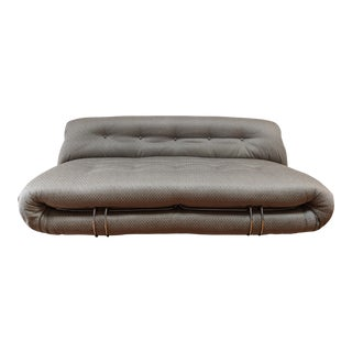 1970s Mid-Century Modern Tobia and Afra Scarpa Soriana Sofa For Sale