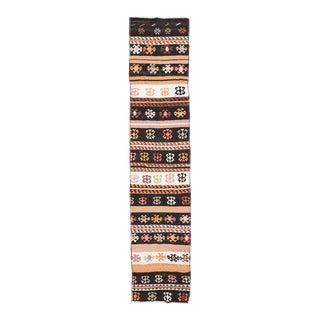 Vintage Decorative Kilim Runner For Sale