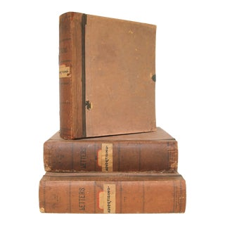 Vosburgh & Whiting Co. Letter File Books, S/3 For Sale