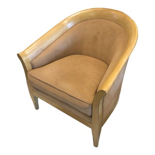 1960s Vintage Stickley Bay Hill Maple Club Chair For Sale