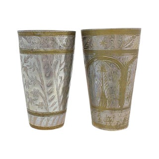 Moroccan Lassi Cups - a Pair