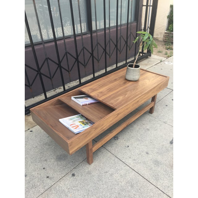"""Custom Handcrafted """"Rosa"""" Coffee Table For Sale - Image 11 of 13"""