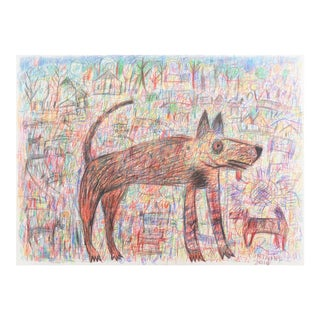 'Dog Park' by Ted Fontaine, 2016, California, University of California, San Francisco Bay Area For Sale