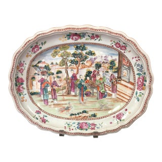 Antique 1820 Chinese Export Platter