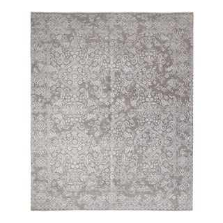 """Contemporary Hand-Knotted Area Rug 8' 0"""" x 10' 1"""" For Sale"""