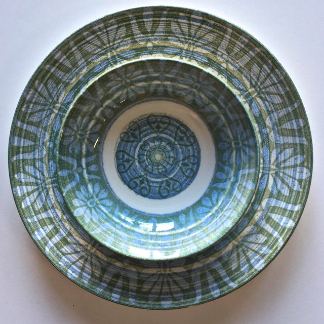 American Classical Royal-Ironstone Baghdad 10-Piece Bowls & Plates - Set of 5 For Sale - Image 3 of 8