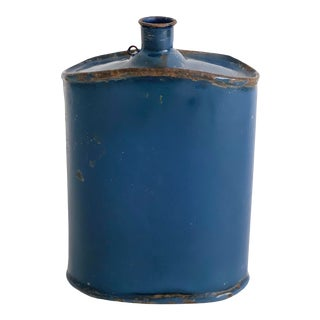 1950s Indian Military Enamel Canteen For Sale