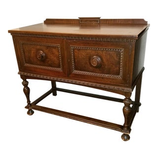 1924 American Classical Grand Rapids Chair Co Dining Room Server For Sale