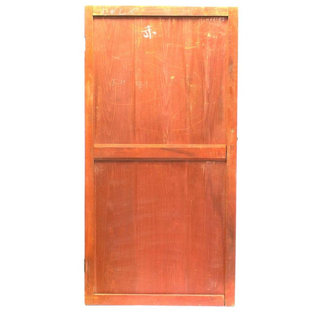 """Itado or wooden door. Japanese Sugi cedar wood. Made in the early 20th century. 34.75"""" x 68.5"""" (width, height) Shipping..."""