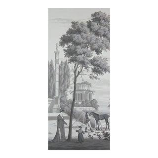 Portobello Hand Painted Scenic Panel For Sale
