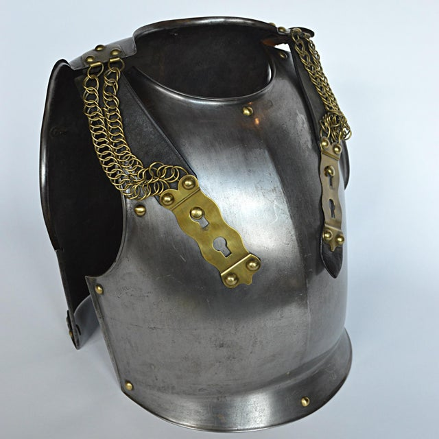 French French Cuirassier's Breast and Back Plate For Sale - Image 3 of 11