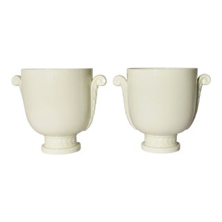 Pair of Lenox Porcelain Urns For Sale