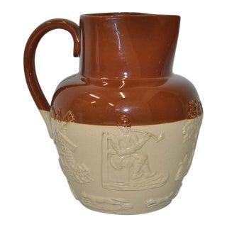 English Stoneware Pitcher c.1900