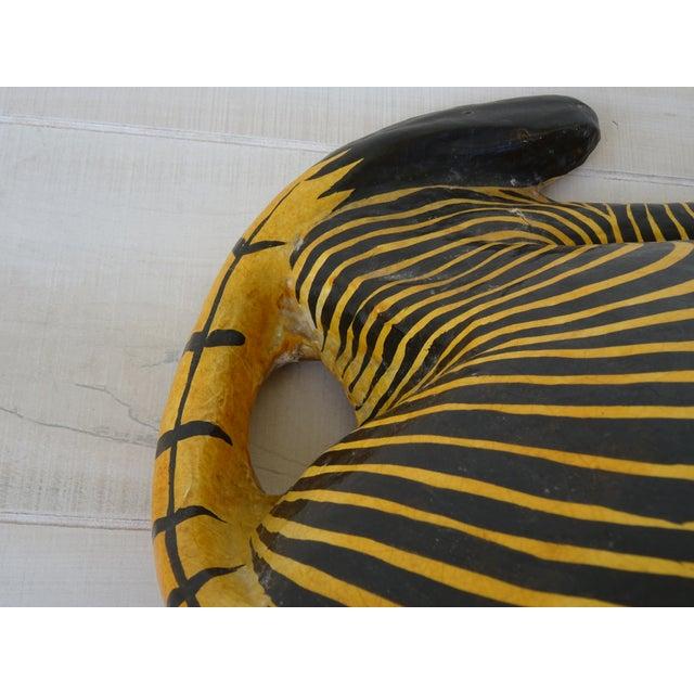 Vintage Mid-Century Sermel Art Paper Mache Zebra For Sale - Image 11 of 12
