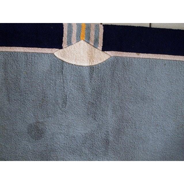Textile 1970s Vintage Tibetan Khaden Handmade Square Rug - 6′6″ × 6′6″ For Sale - Image 7 of 9