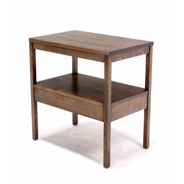 Mid-Century Modern 1 One drawer End Table Stand For Sale In New York - Image 6 of 6
