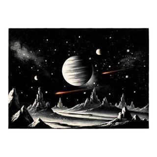 Velvet Lunar Painting