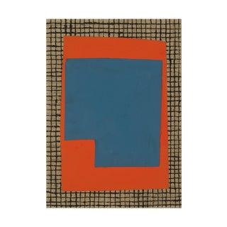 "Elizabeth Gourlay ""Blue U"", Painting For Sale"