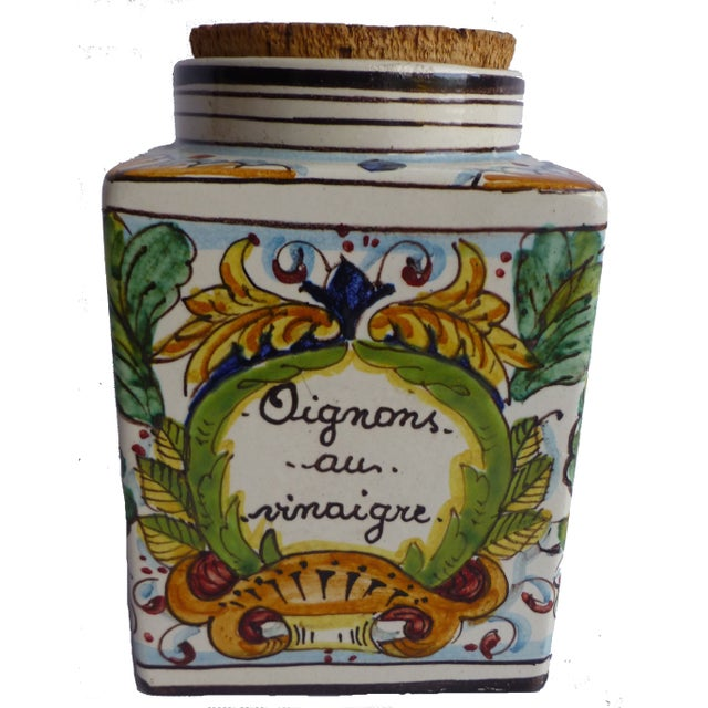 Mid-Century French Ceramic Jar - Image 1 of 4