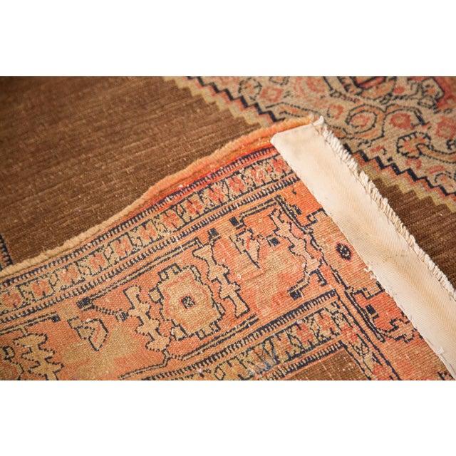 "Antique Fine Senneh Square Rug - 4'1"" X 5' For Sale - Image 4 of 9"