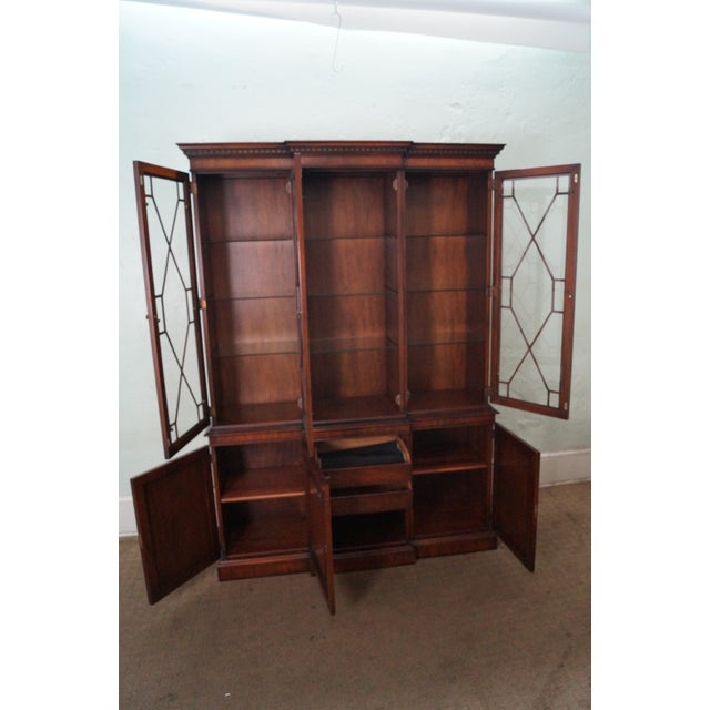 Kindel Mahogany Chippendale Style China Cabinet - Image 2 of 10