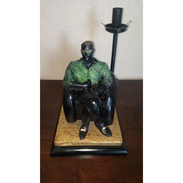 1980s 1980's Reto Figurative Pop Culture Table Lamp For Sale - Image 5 of 13