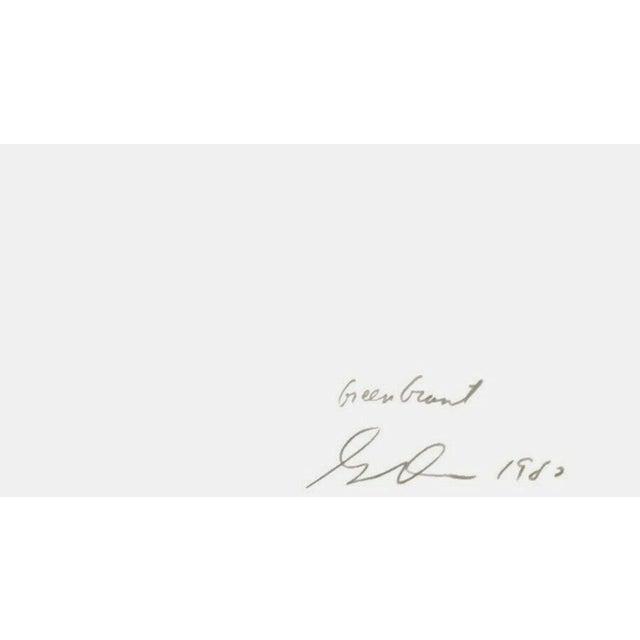Artist: Gene Davis (1920-1985) Title: Giant Green Year: 1980 Medium: Silkscreen on Arches paper Edition: 250, plus proofs...
