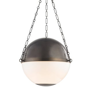 Sphere No.2 3 Light Large Pendant - DB For Sale