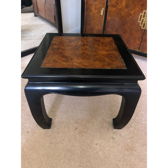 Century Furniture 1970s Asian Century End Table For Sale - Image 4 of 4